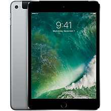 iPad mini 4 128 GB Wi-Fi + 4G/LTE– space grey