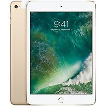 iPad mini 4 128 GB Wi-Fi + 4G/LTE – guld