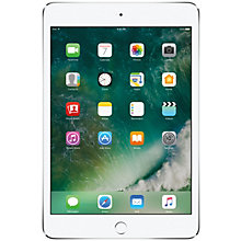 iPad mini 4 128 GB Wi-Fi – sølv