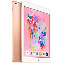 iPad (2018) 128 GB WiFi + Cellular (guld)