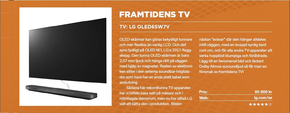 LG W7 Signature - ett supertunt mästerverk