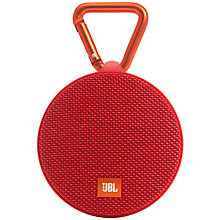 JBL Clip 2 trådløs højttaler - rød