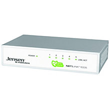Jensen 5 port Gigabit switch NL1005