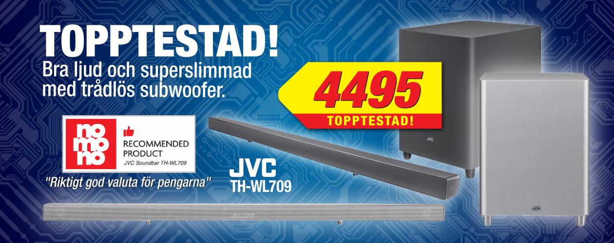 JVC soundbar - topptestad modell!