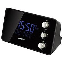 HITACHI CLOCK RADIO DAB+