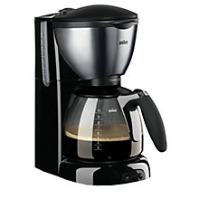BRAUN COFFEE MAKER BLACK