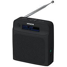Hitachi FM/DAB+ radio KH335BE (sort)