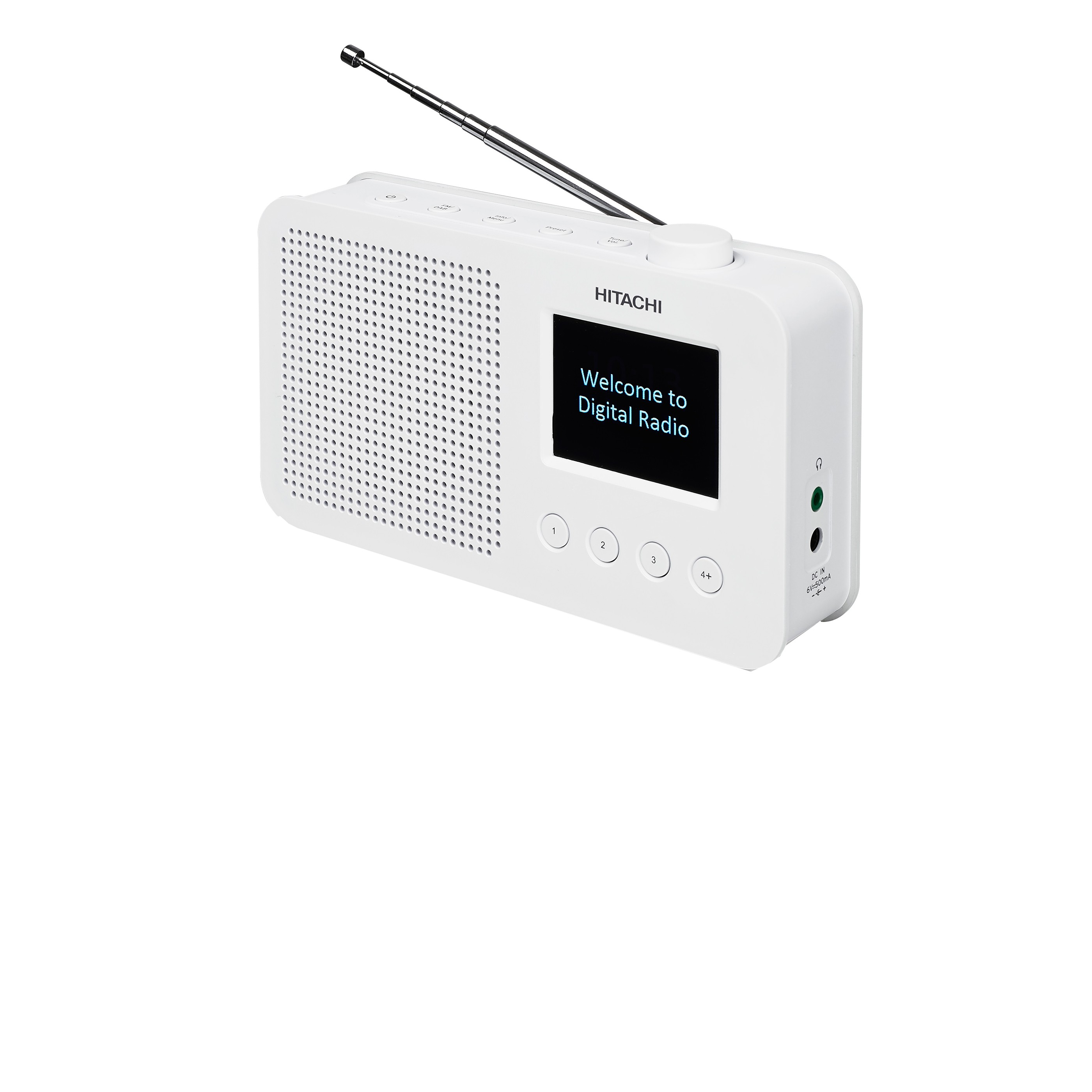 G50T : Hitachi DAB/DAB+/FM+ radio KHD150E (hvit)