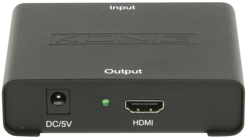 KN-HDMICON21N : König adapter VGA - HDMI