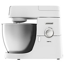 KENWOOD CHEF XL 1200W KITCHENMACHINE WHITE