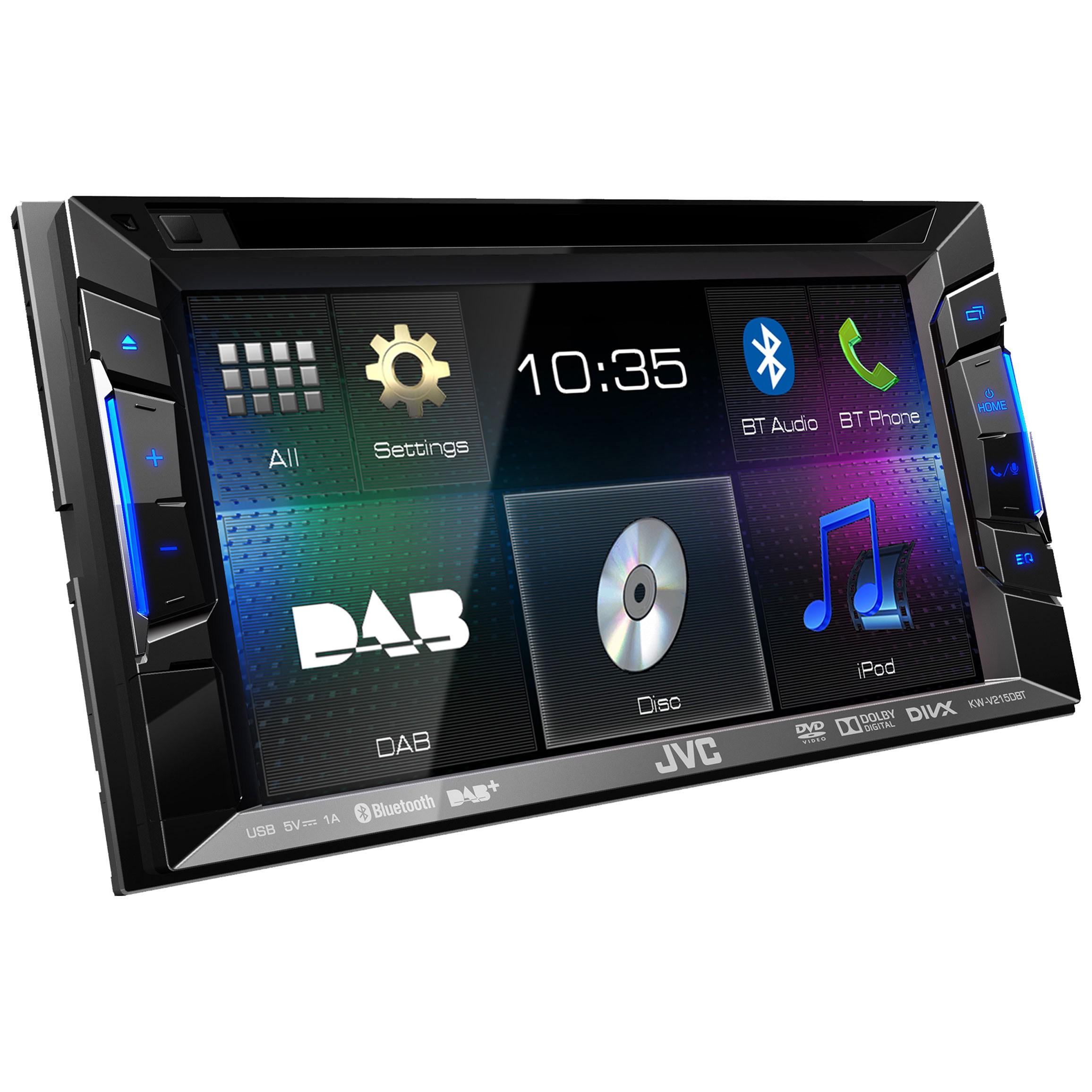 KW-V215DBT-E3A : JVC Car DAB+ Radio KWV215DBTE3A