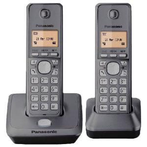 Panasonic KX-TG2712DUO trådløs telefon - Fastnettelefon - Elgiganten