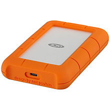 LaCie Rugged USB-C 5 TB bærbar harddisk