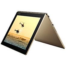 "Lenovo Yoga Book 10,1"" 2-i-1 64 GB Wi-Fi - guld"