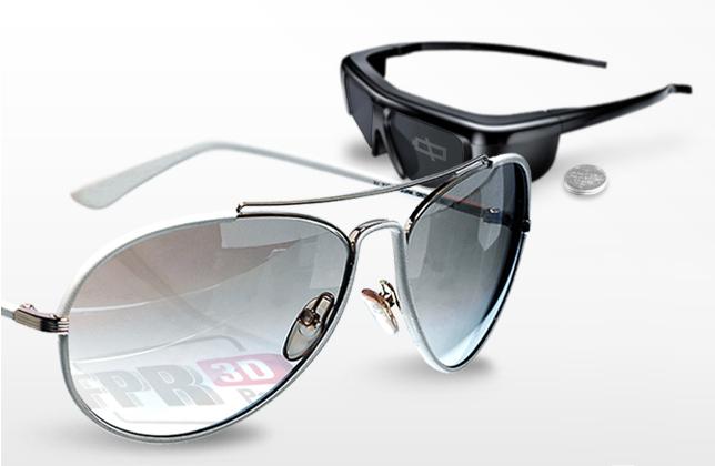 LG passiva 3D glasögon
