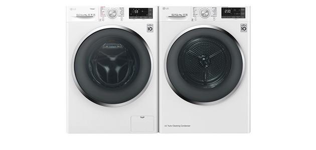 LG pyykinpesukoneet ja kuivausrummut