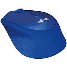 Logitech M330 Silent Plus trådløs mus - blå
