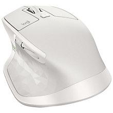 Logitech MX Master 2S trådløs mus (lysegrå)