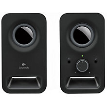 Logitech Z150 2.0 højttalere (sort)