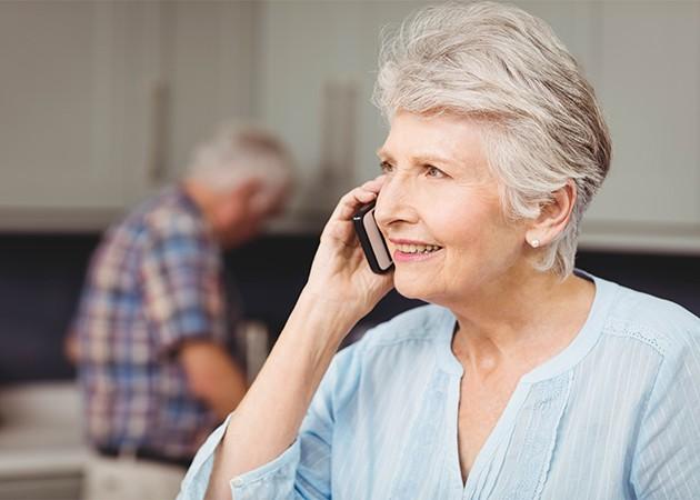 Mobiltelefoner för äldre