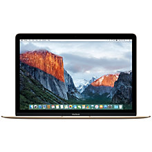 "MacBook 12"" 1.1GHZ/8GB/256GB (Gold)"