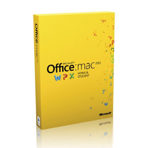 Microsoft Office 2011 Home & Student (Mac)