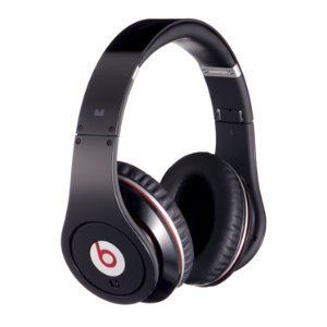 Beats by Dr.Dre Studio hodetelefoner (sort)