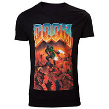 DOOM - Classic Boxart Crewneck men's T-shirt - S