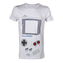 Nintendo - White Gameboy T-shi