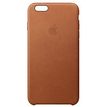 Apple iPhone 6s læderetui - saddle brown
