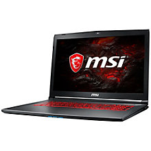 MSI GV i7-7700HQ/16/1T+256/1060-6/120Hz