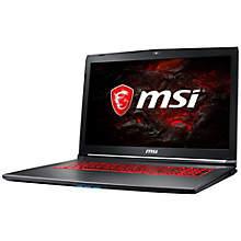 "MSI GV72VR 7RF-666NE 17.3"" bærbar gaming computer"