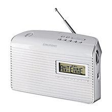 GRUNDIG FM RADIO WHITE
