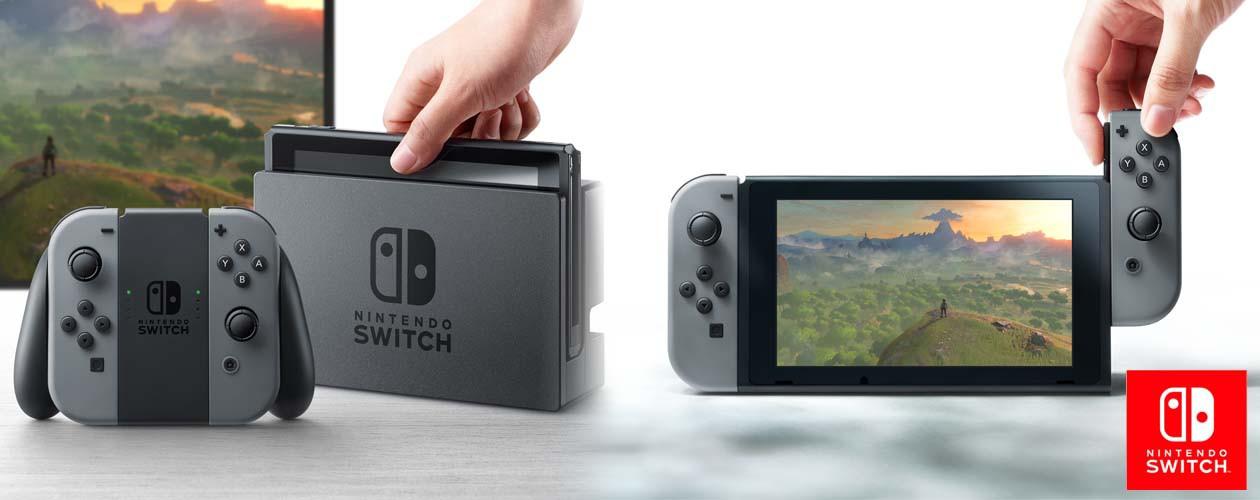 Nintendo Switch - unik gaming uanset hvor du er