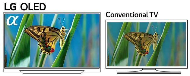 LG OLED giver perfekt billedkvalitet