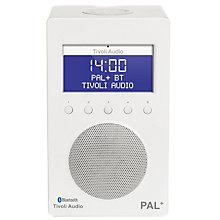 TIVOLI DAB+/FM/BT RADIO WHITE/WHITE