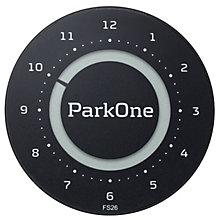 ParkOne 2 Electronic Parking Disc Carbon Black