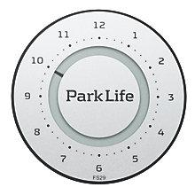 PARK LIFE PARKING DISK TITANIUM SILVER
