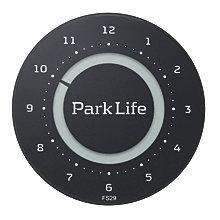 PARK LIFE PARKING DISK BLACK