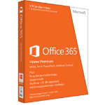 Microsoft Office 365 Home Premium (1 års abonnement)