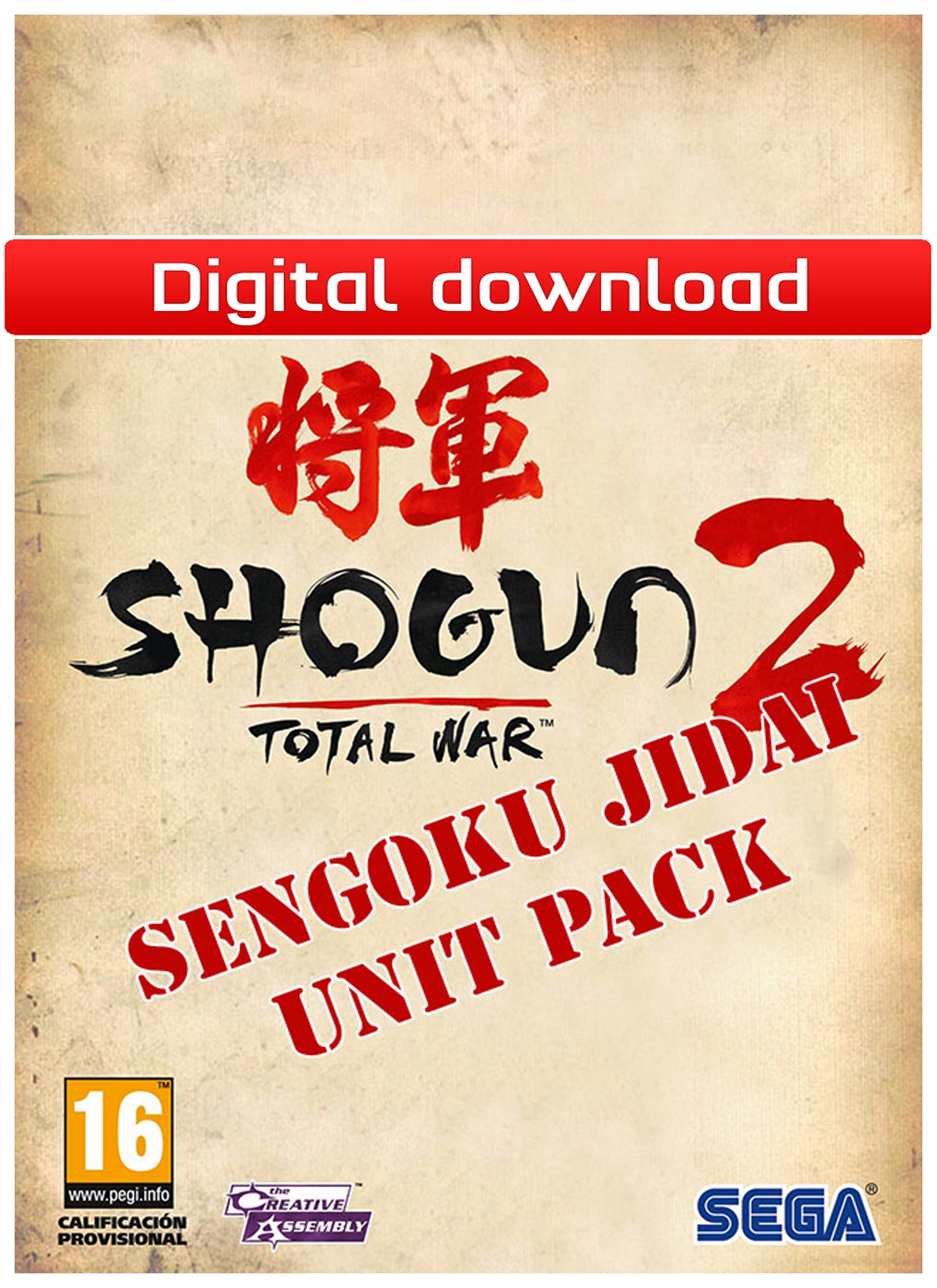 27556 : Total War: Shogun 2: Sengoku Jidai UP(PC nedlastning)
