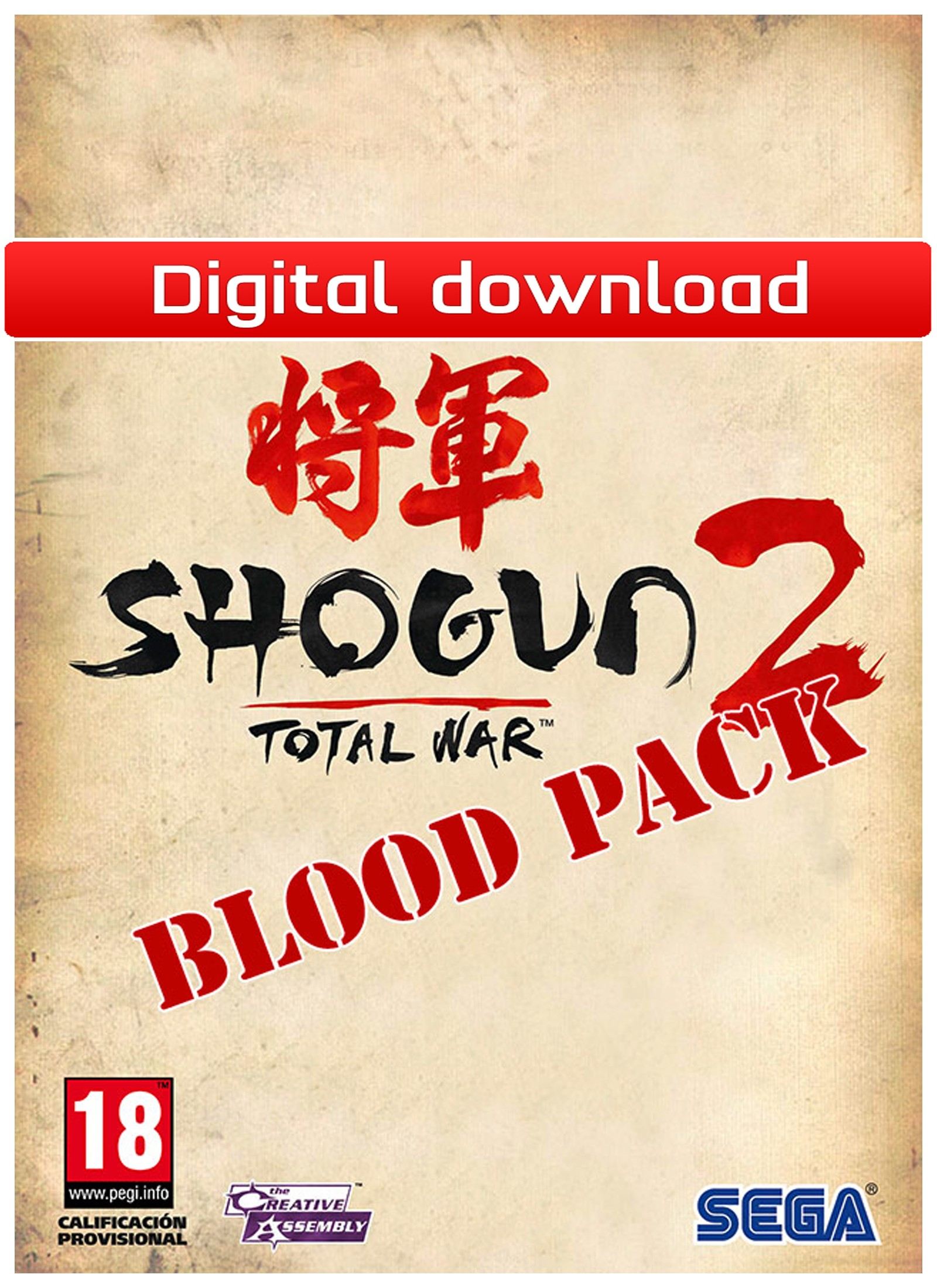 28209 : Total War: Shogun 2: Blood Pack (PC nedlastning)