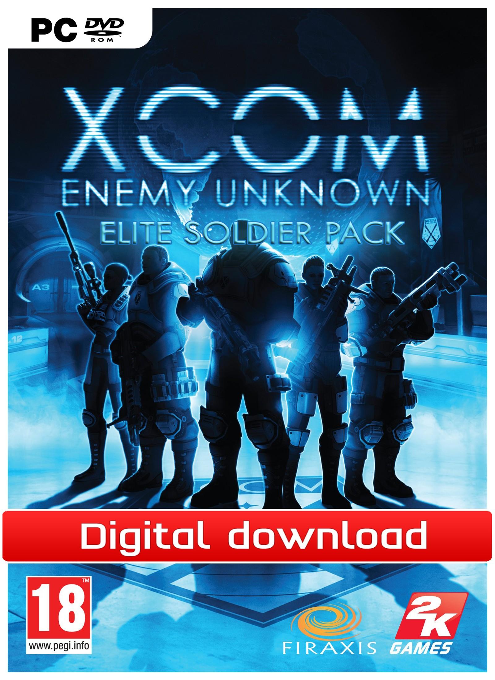 30717 : XCom: Enemy Unknown: Elite Soldier Pck (PC nedlastning)