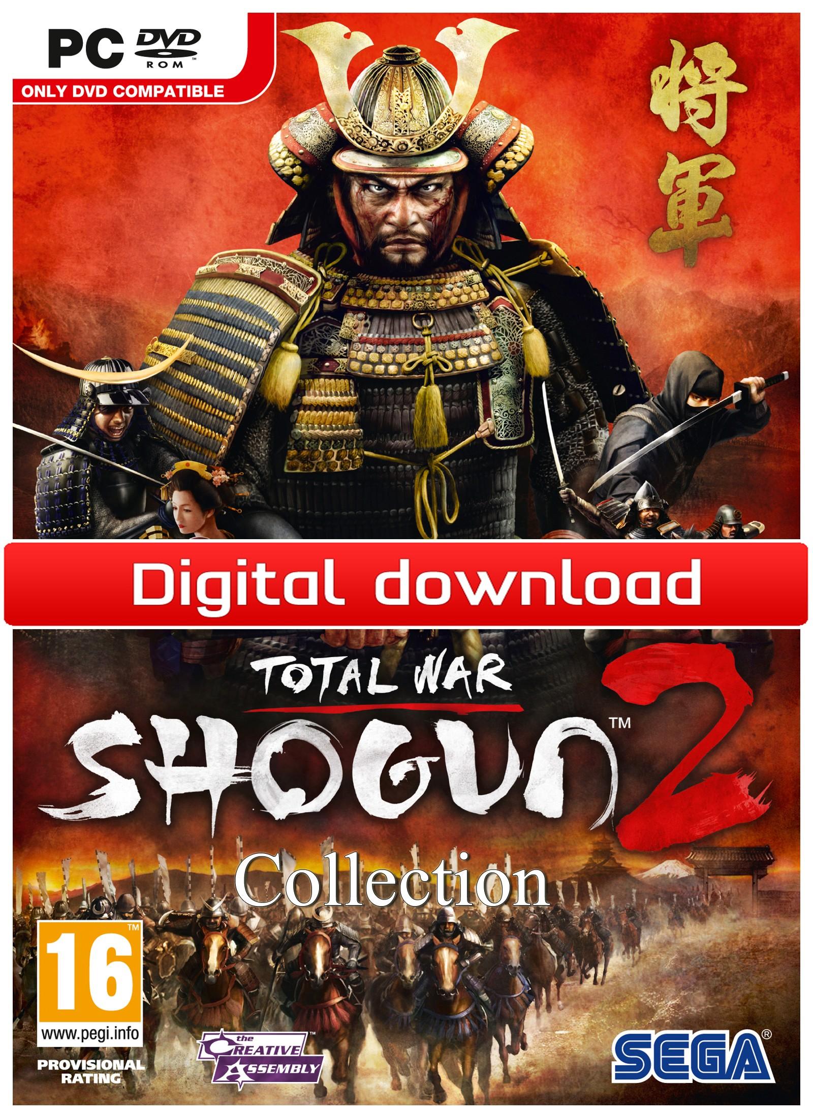 32792 : Total War: Shogun 2 Collection (PC nedlasting)
