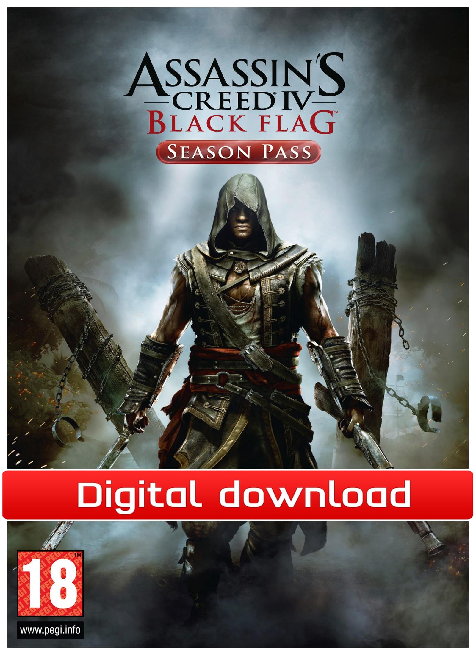 33854 : Assassin?s Creed IV: Black Flag Season Pass (PC nedl)