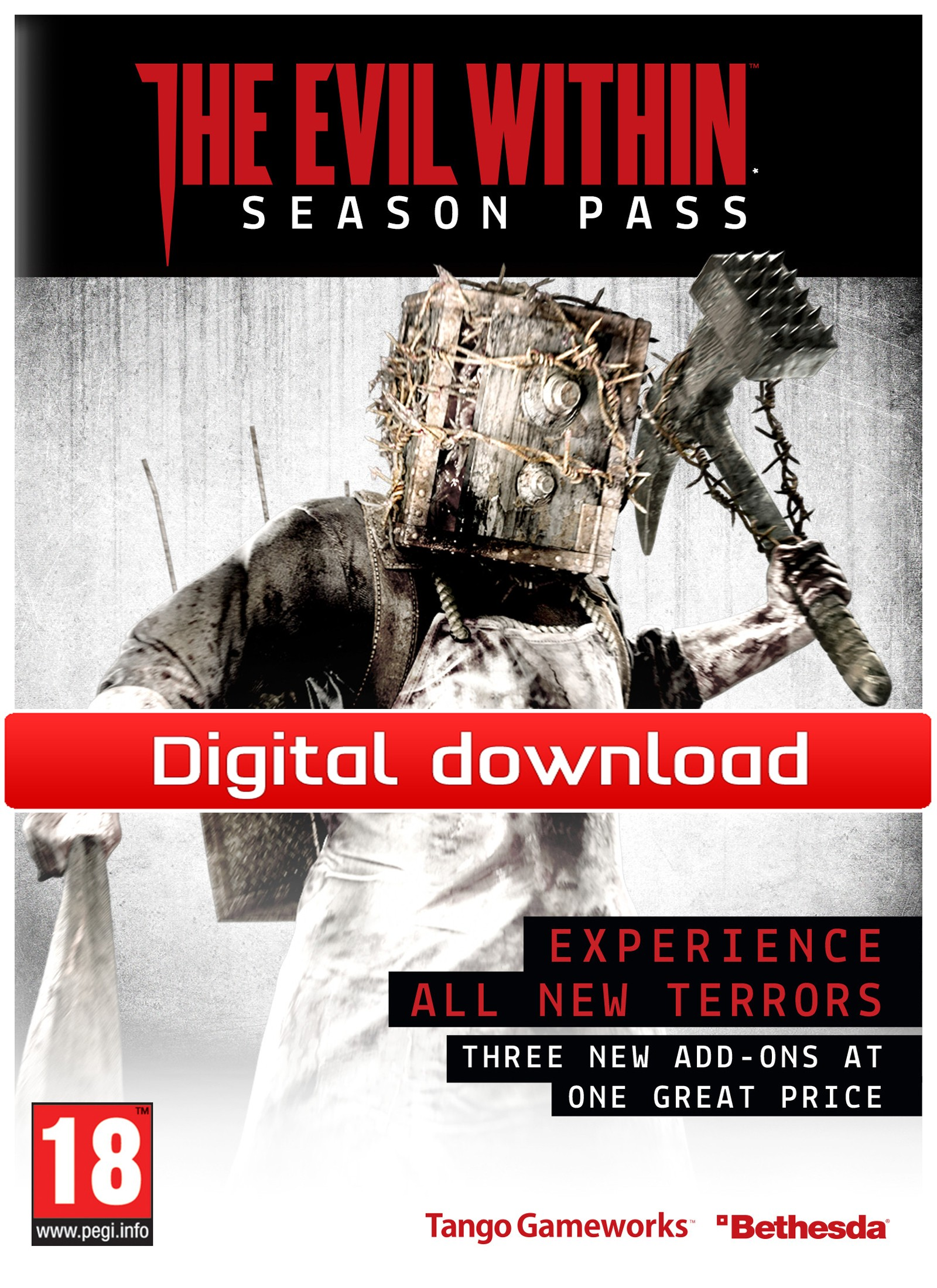 36195 : The Evil Within Season Pass DLC (PC nedlastning)