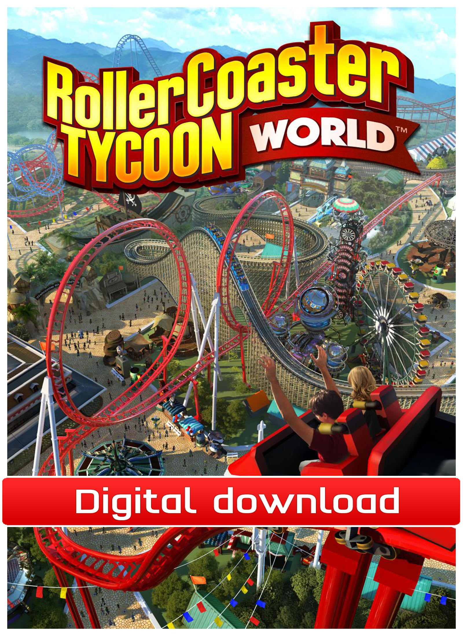 37177 : RollerCoaster Tycoon World - Early Access (nedl)