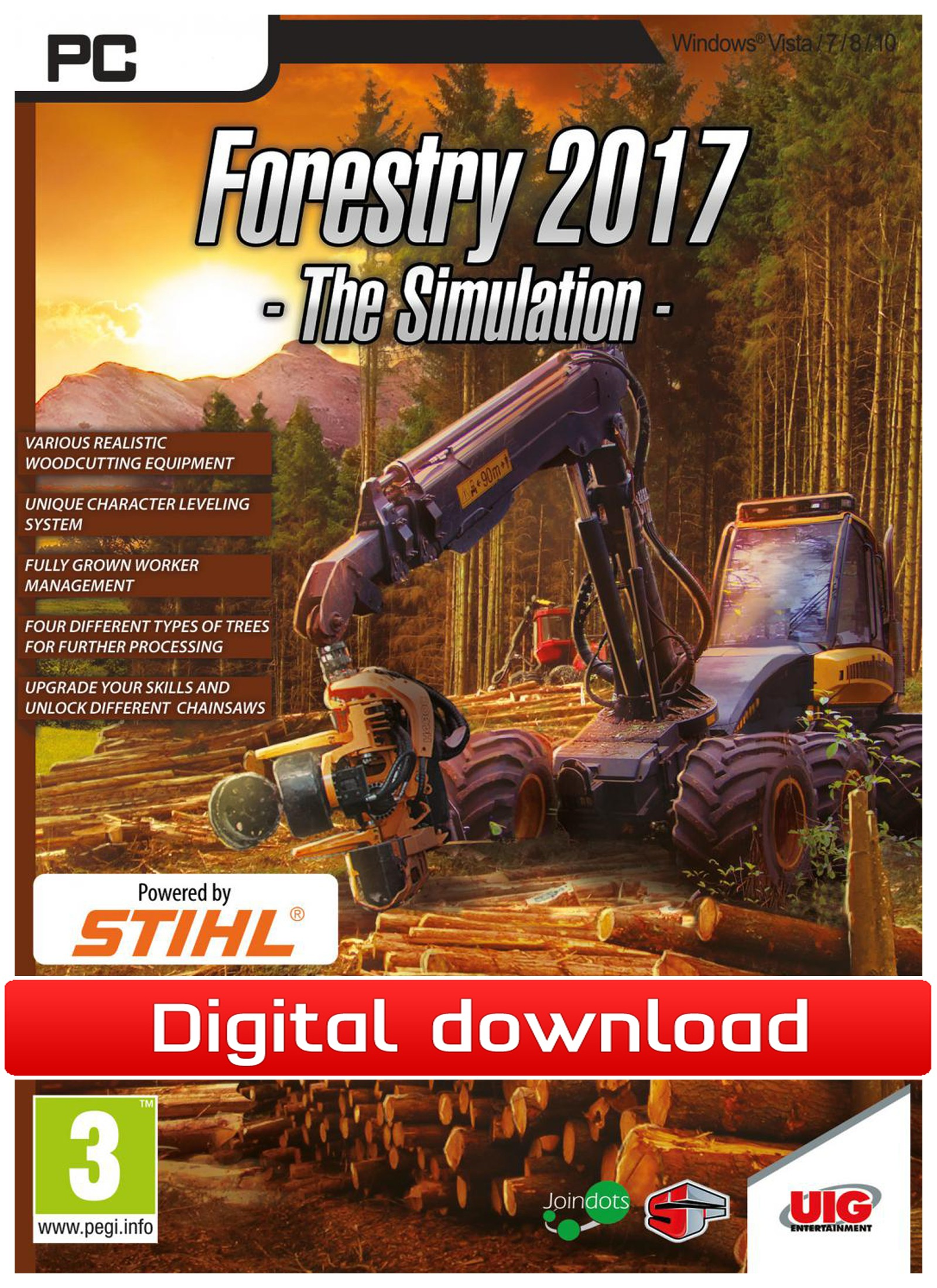 39292 : Forestry 2017 - The Simulator (PC nedlastning)
