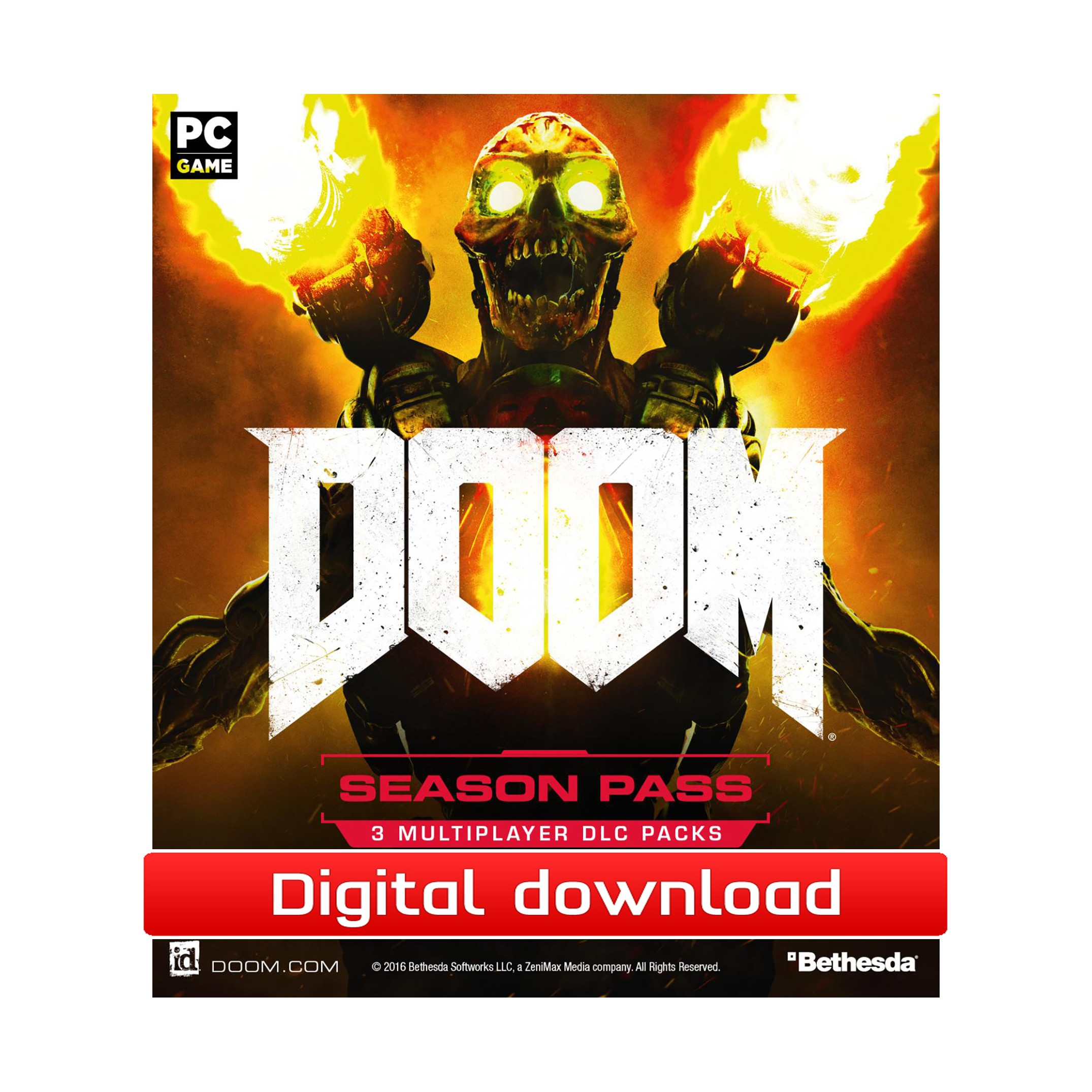 39628 : DOOM Season Pass (PC nedlastning)
