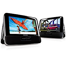 PHILIPS PORTABLE DUAL DVD 7''